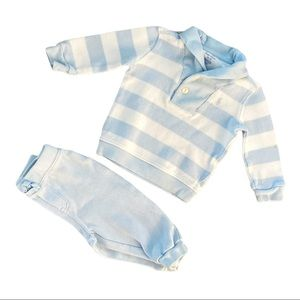 Ralph Lauren | Matching Knit Set (9 mos) 💙